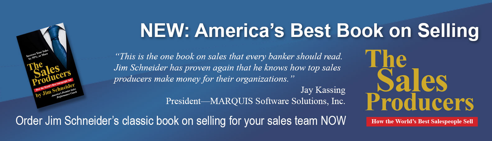 bank sales training book